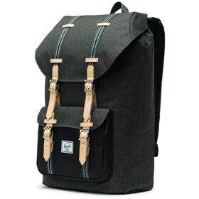 Herschel Herschel Little America Rygsæk 25L, black crosshatch/black